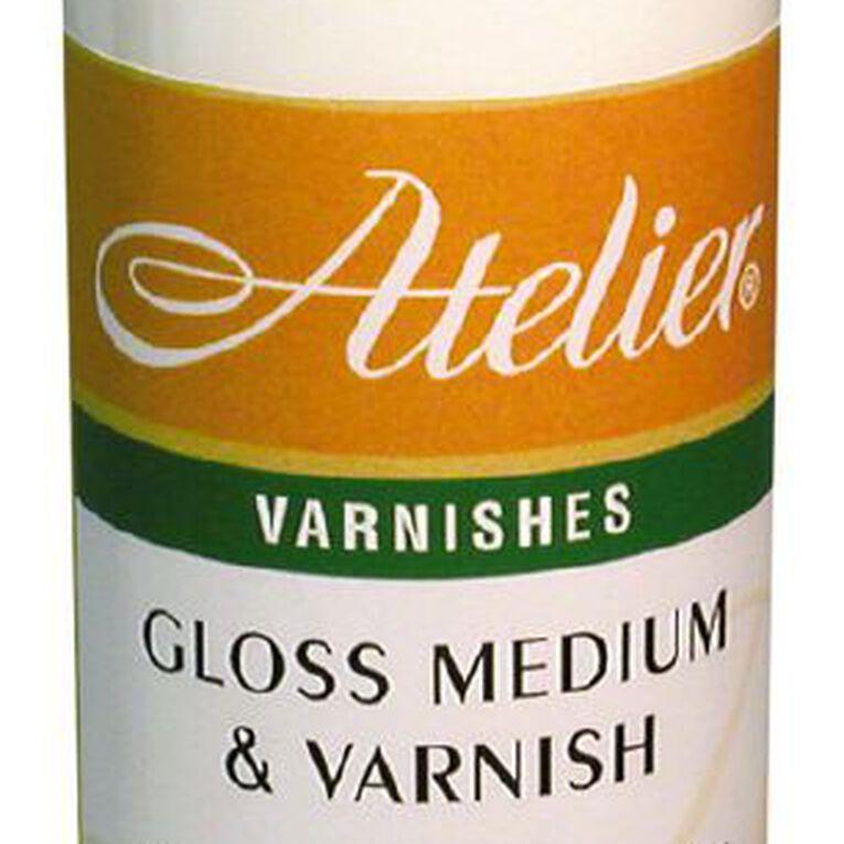 Atelier Medium & Varnish 250ml Gloss, , hi-res