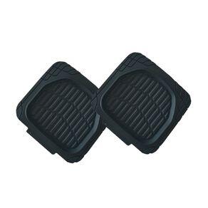 Mako Rubber Heavy Duty Rear Car Mat Black 2 Pack