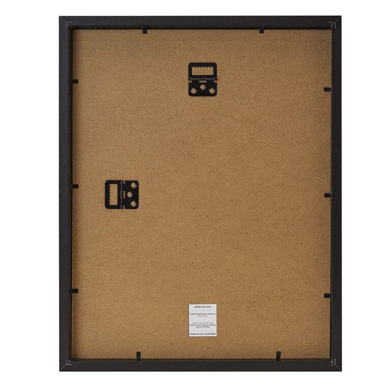 Living & Co Premium Photo Frame Black 5in x 7in, Black, hi-res