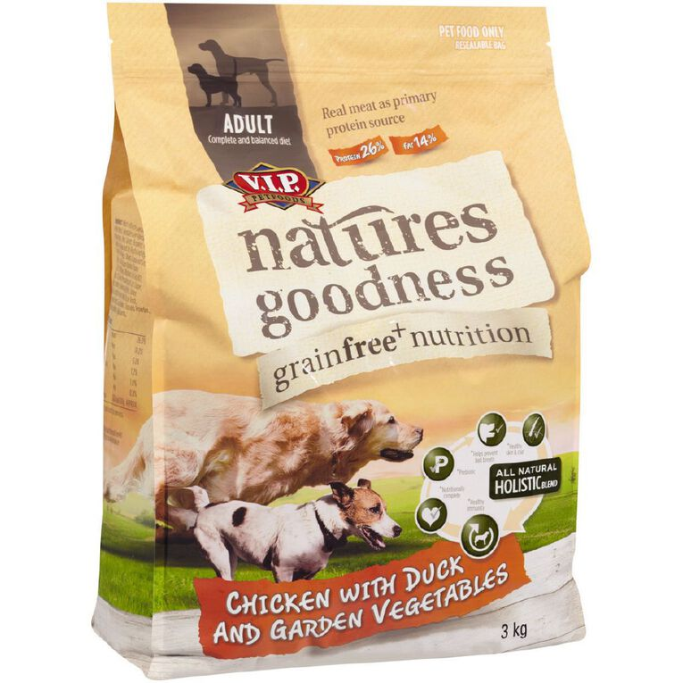 Natures Goodness Chicken with Duck and Garden Vegetables 3kg, , hi-res
