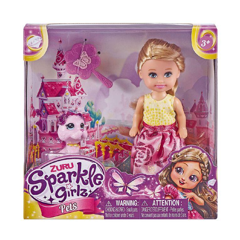 Zuru Sparkle Girlz Doll & Pet Play Set Assorted, , hi-res