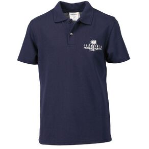Schooltex Glenfield Primary Short Sleeve Polo with Embroidery