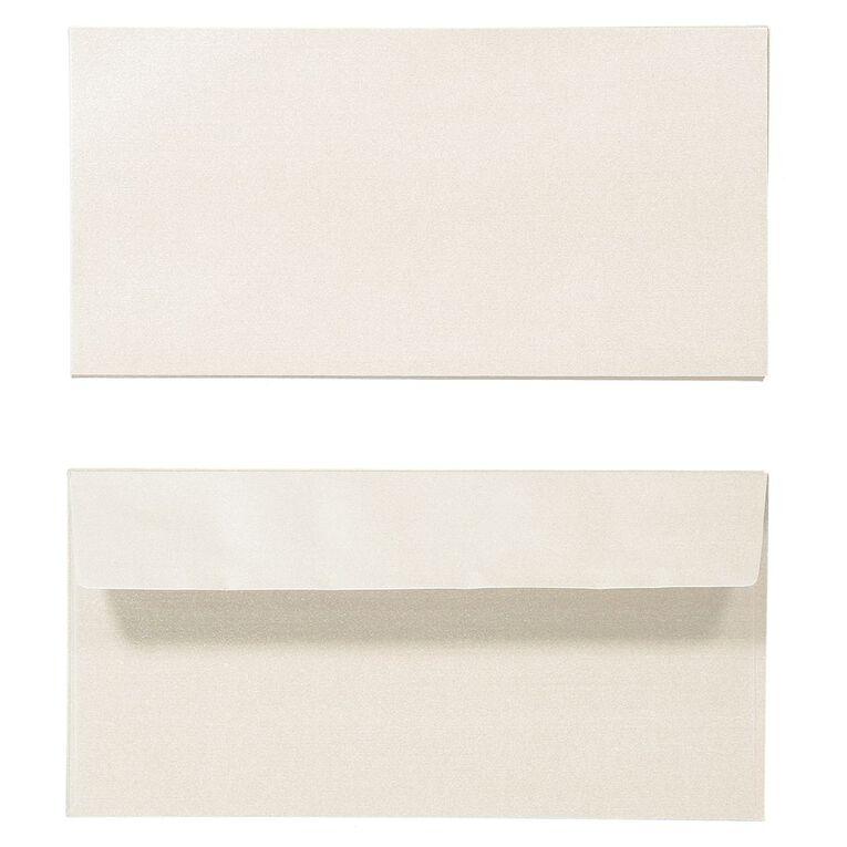 Create With DL Envelope 25 Pack Metallic Pearl, , hi-res