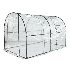 Kiwi Garden Polytunnel with PVC Cover 200gsm 3x2x1.9m