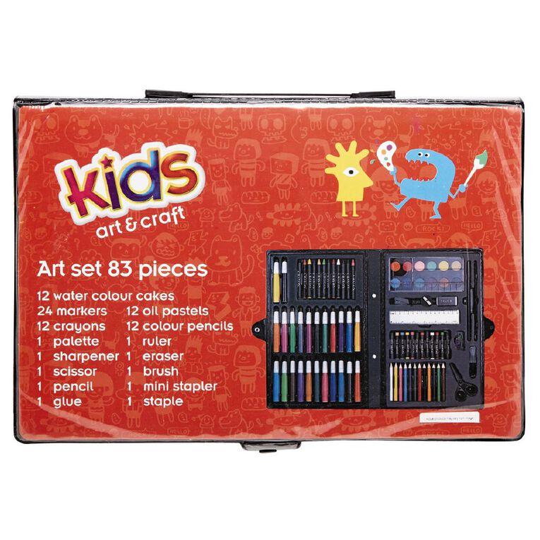 Kookie Art Set 82 Piece, , hi-res