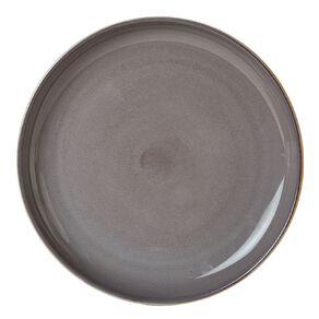 Living & Co Kina Dinner Plate Charcoal