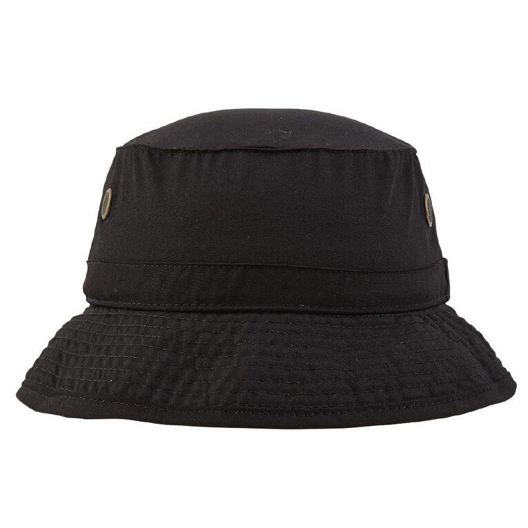 Schooltex Bucket Hat, Black, hi-res