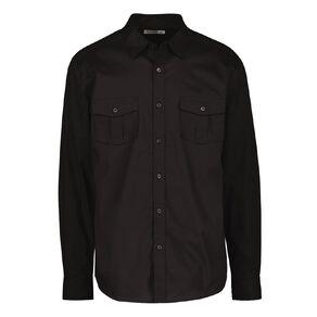 H&H Men's Long Sleeve Plain Cotton Shirt