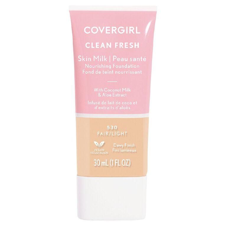 Covergirl Clean Fresh Skin Milk Fair/ Light 530 30ml, , hi-res