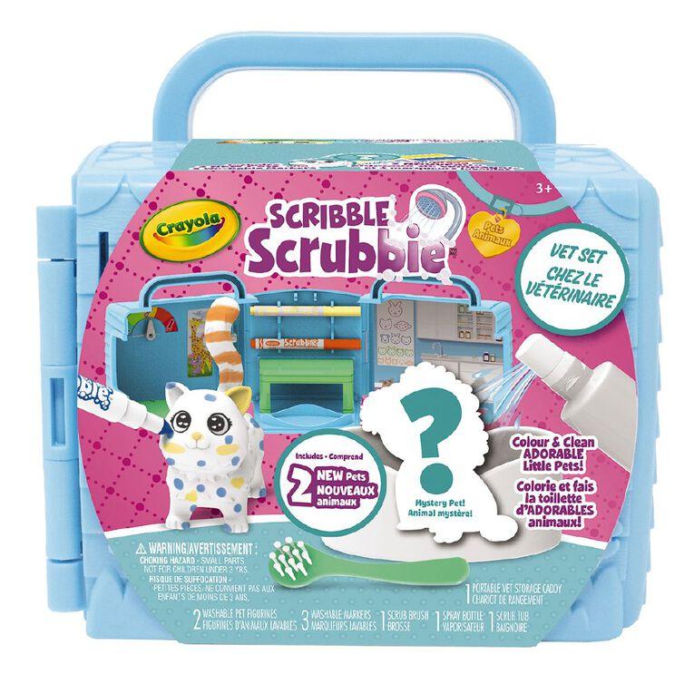 Crayola Scribble Scrubbies Vet Set, , hi-res