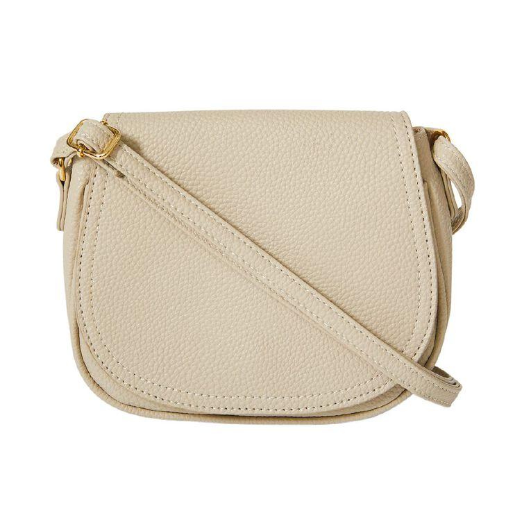 H&H Flap Opening Handbag, Taupe, hi-res