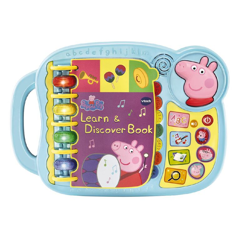 Vtech Peppa Pig Learn & Discovery Book, , hi-res