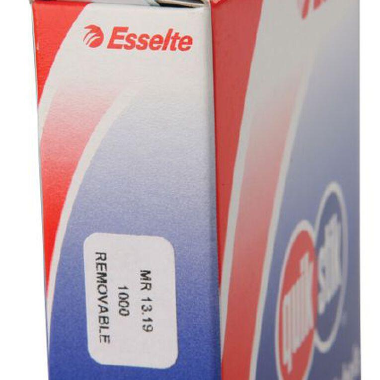 Quik Stik Labels Mr1319 13mm x 19mm 1000 Pack White, , hi-res