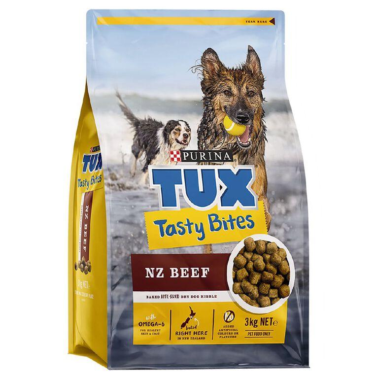 TUX Tasty Bites Beef 3kg, , hi-res