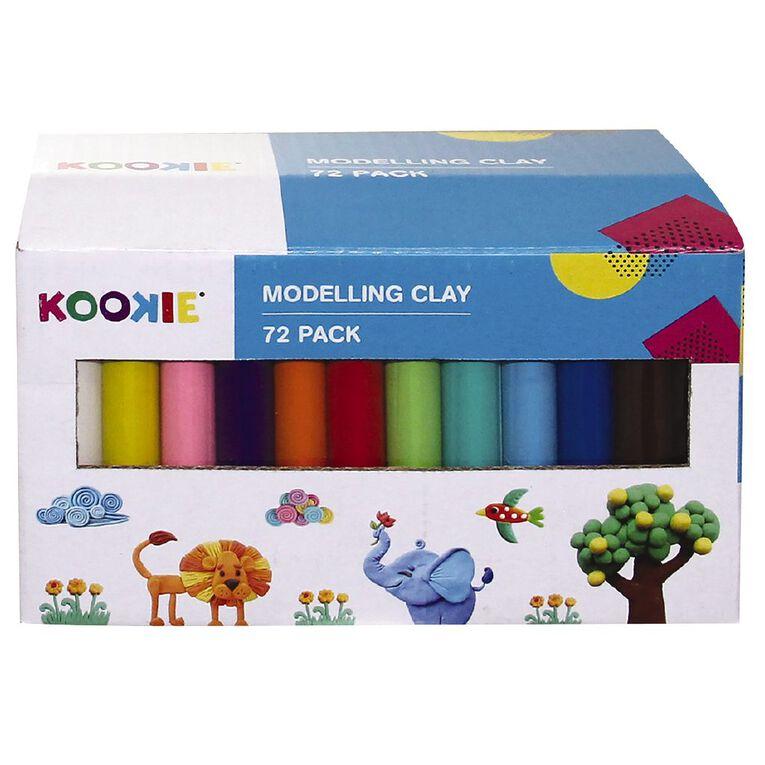 Kookie Modelling Clay 72 Pieces, , hi-res