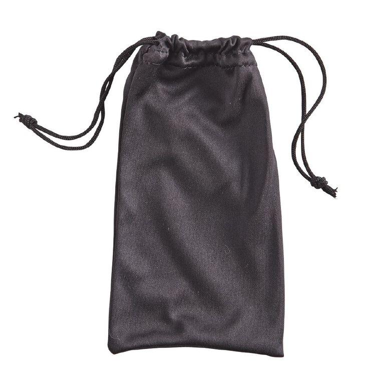 H&H Essentials Sunglass Pouch, Black, hi-res