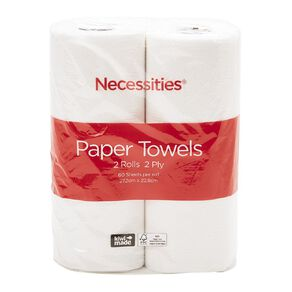 Necessities Brand Paper Towel Tall 2 Pack