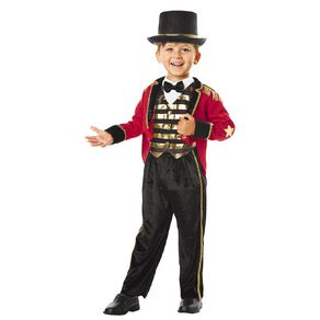 Seasons Ringleader Costume Size 2-4