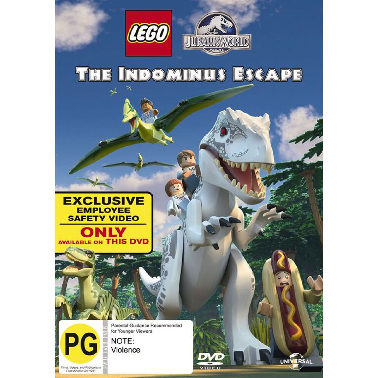 Lego Jurassic World The Indominus Escape DVD 1Disc, , hi-res