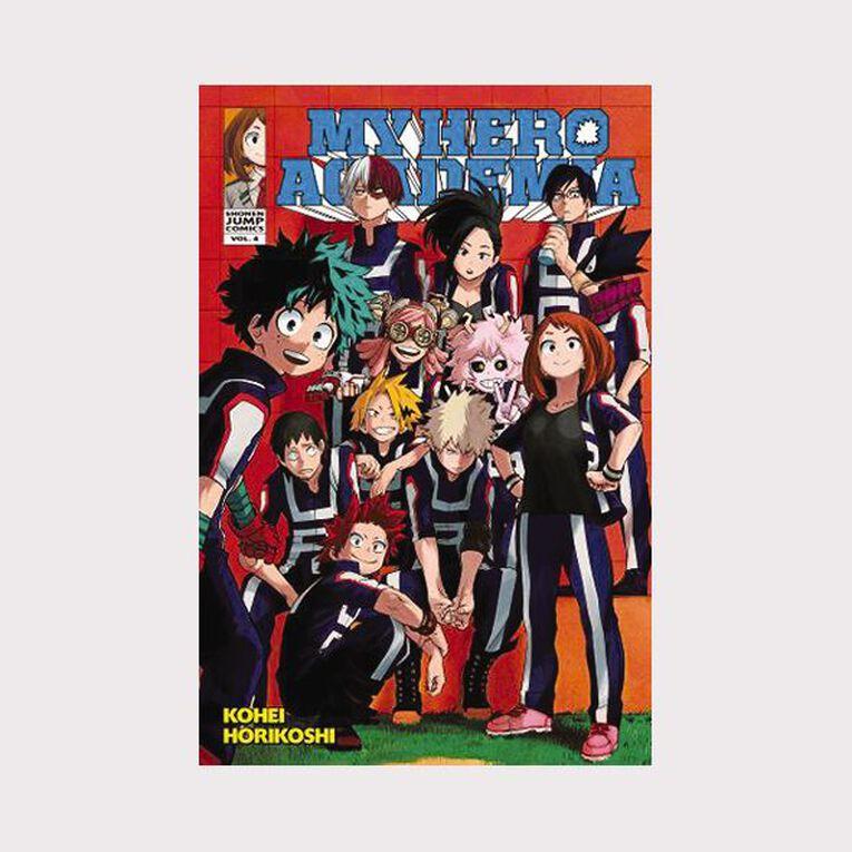 My Hero Academia Vol #4 by Kohei Horikoshi, , hi-res