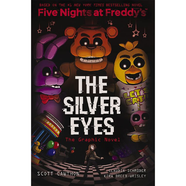 Five Nights At Freddy's Graphic #1: The Silver Eyes by Scott Cawthon, , hi-res