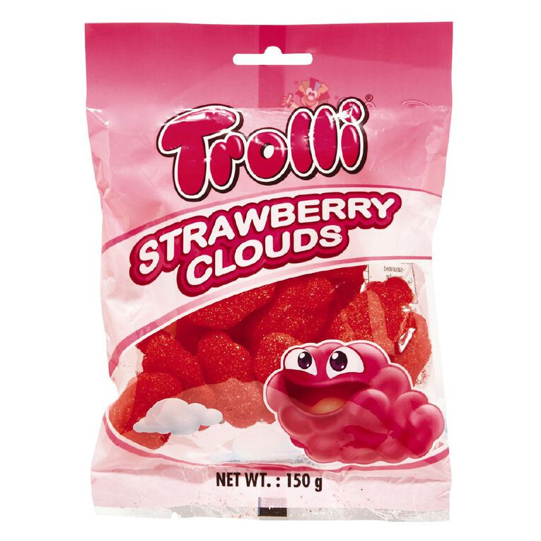 Trolli Strawberry Clouds 150g, , hi-res