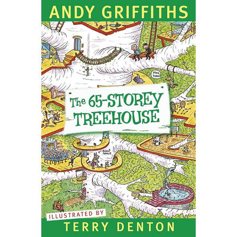 The 65 Storey Treehouse by Andy Griffiths & Terry Denton, , hi-res