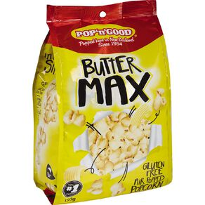 Pop N Good Butter Max 150g