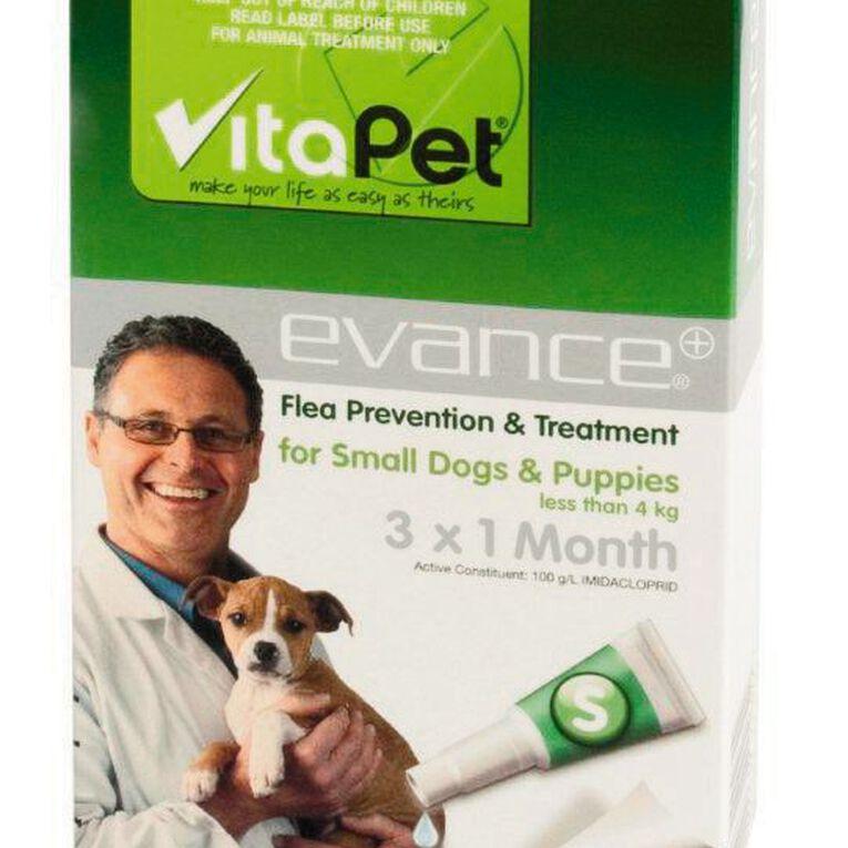 Vitapet Evance Dog Flea Treatment Under 4kg, , hi-res