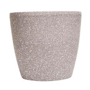 Kiwi Garden Sandstone Plastic Pot Grey 22cm