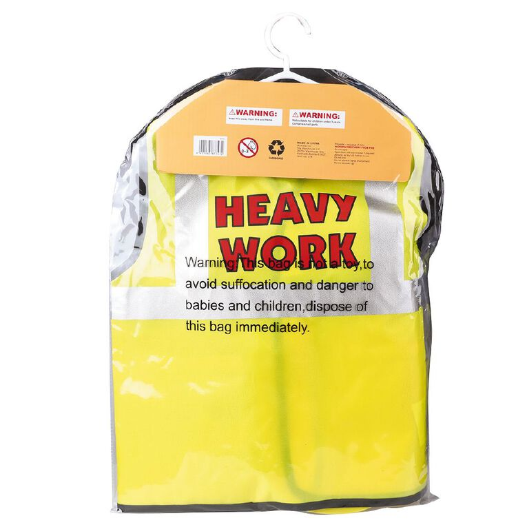 Play Studio Construction Worker Costume Ages 3-5, , hi-res