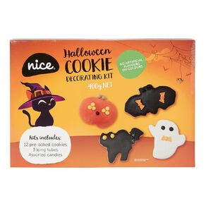 Nice Halloween Cookie Decorating Kit 12pk 400g