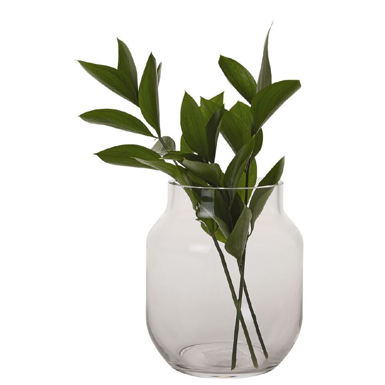 Living & Co Posy Vase 17.5cm Clear, , hi-res