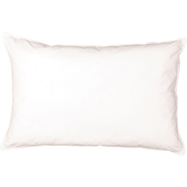 Living & Co Pillow Wool Rich White One Size, White, hi-res