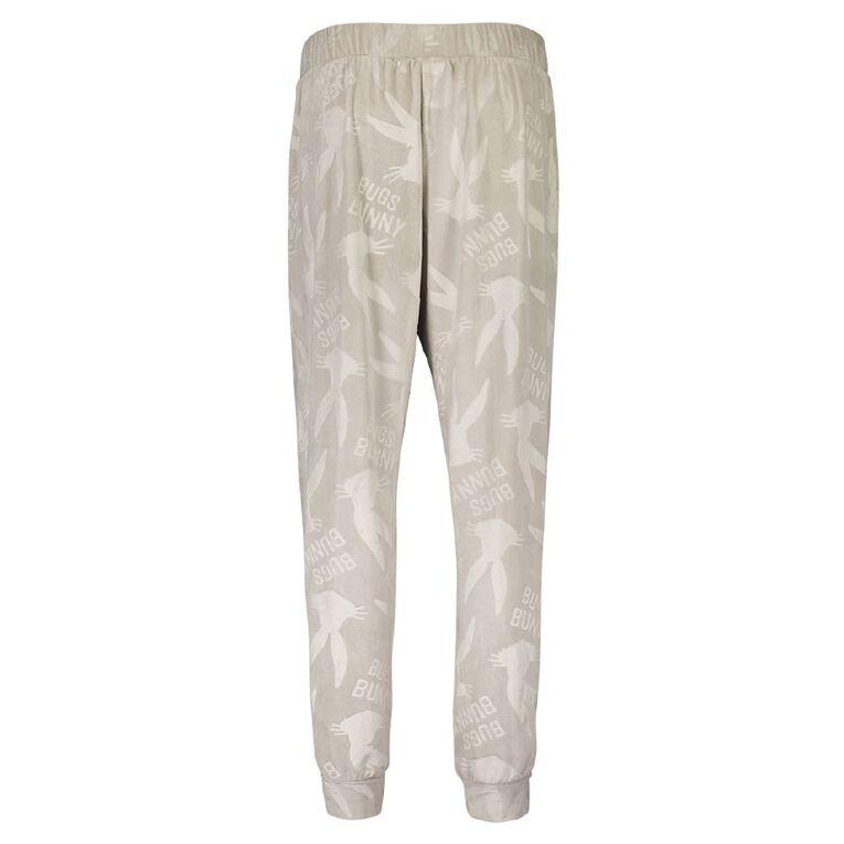 Bugs Bunny Women's Pyjama Pants, Grey Light, hi-res