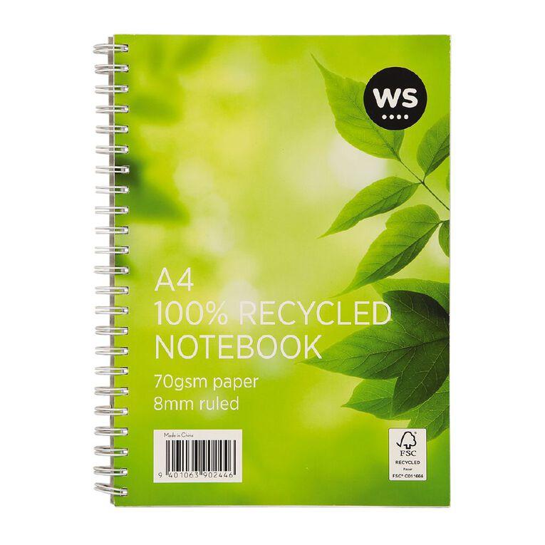 WS Spiral Notebook A4, , hi-res