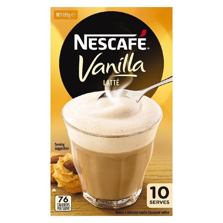 Nescafe Cafe Vanilla 10 Pack, , hi-res
