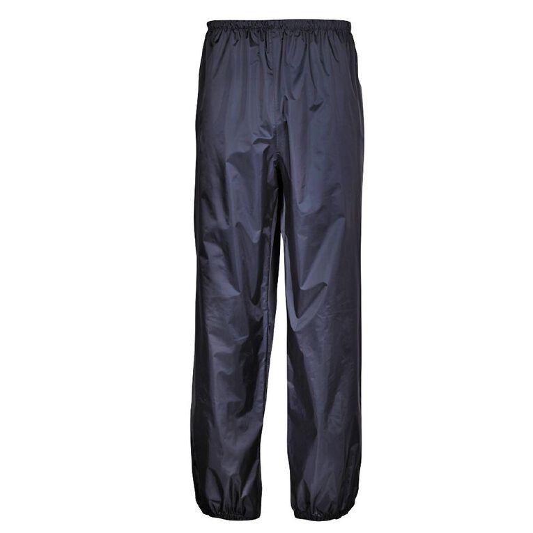 Rivet Water Resistant Pants, Navy, hi-res
