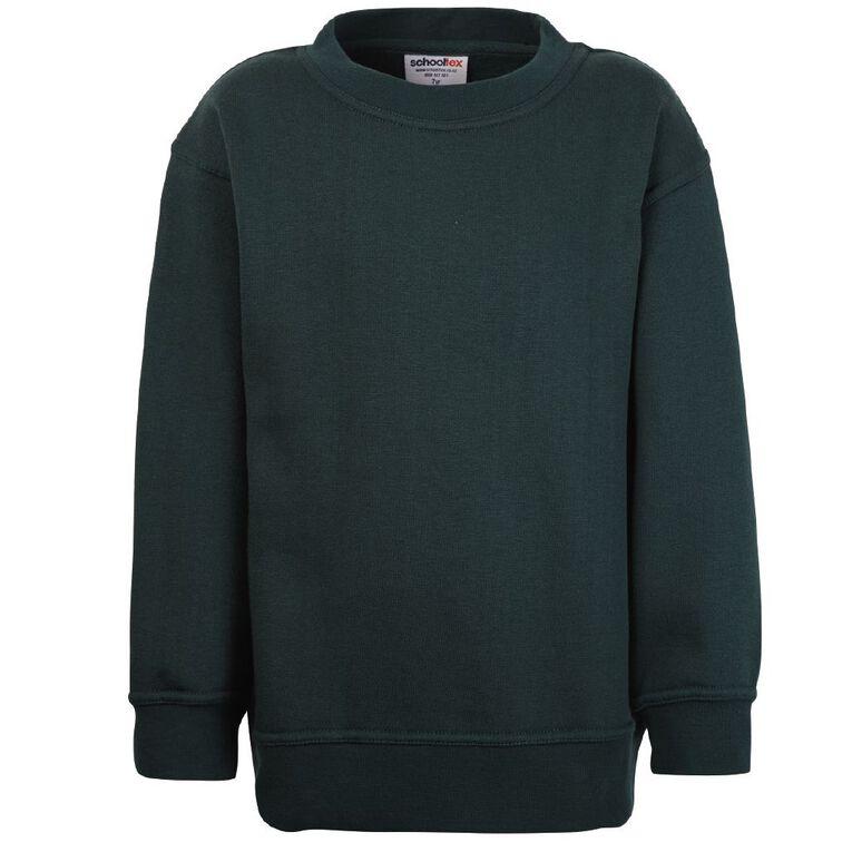Schooltex Kids' Sweatshirt, Bottle Green, hi-res