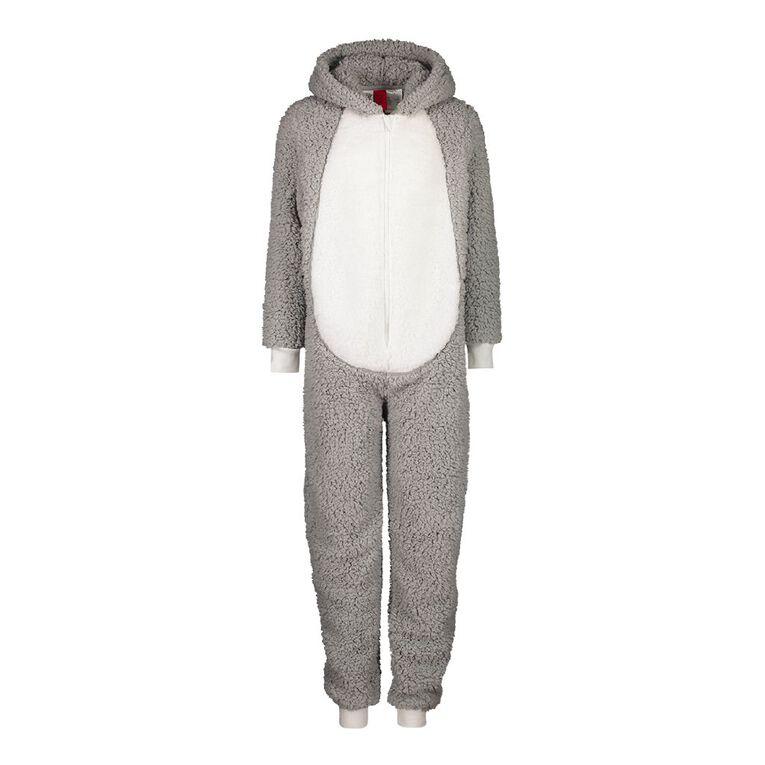 Bugs Bunny Kids' Onesie, Grey, hi-res