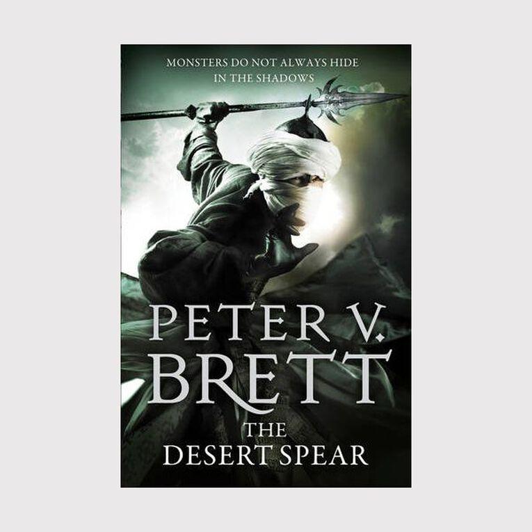 Demon Cycle #2 Desert Spear by Peter Brett, , hi-res