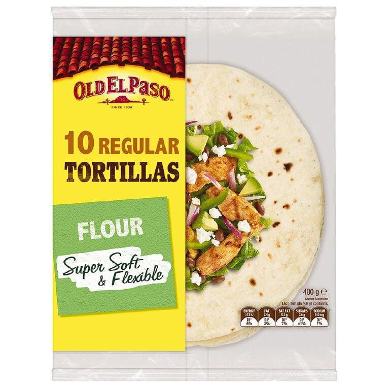 Old El Paso Tortilla 10 Pack, , hi-res