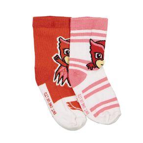 PJ Masks Girls' Crew Socks 2 Pack