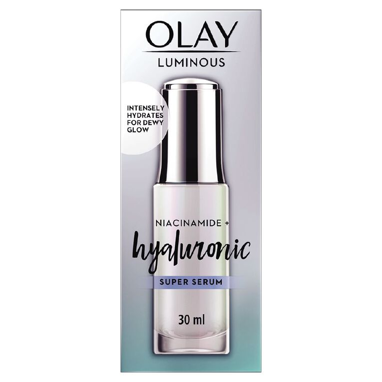 Olay Luminous Super Serum Hyaluronic 30ml, , hi-res