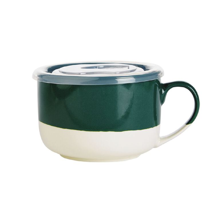 Living & Co Soup Mug Green, , hi-res