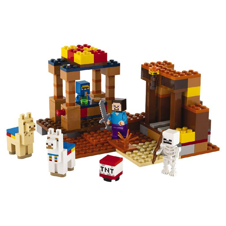 LEGO Minecraft The Trading Post 21167, , hi-res