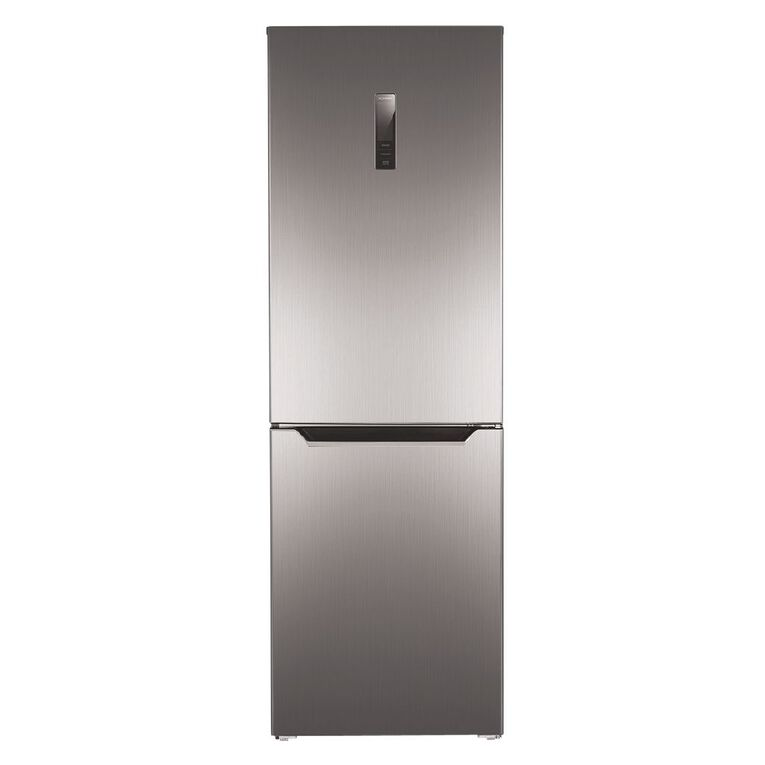 Akai Bottom Mount Fridge/Freezer 357 Litre Silver, , hi-res