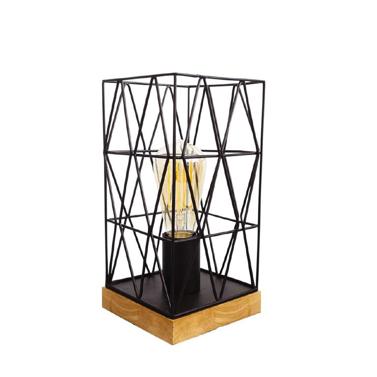 Living & Co Metal Wire Lamp, , hi-res image number null
