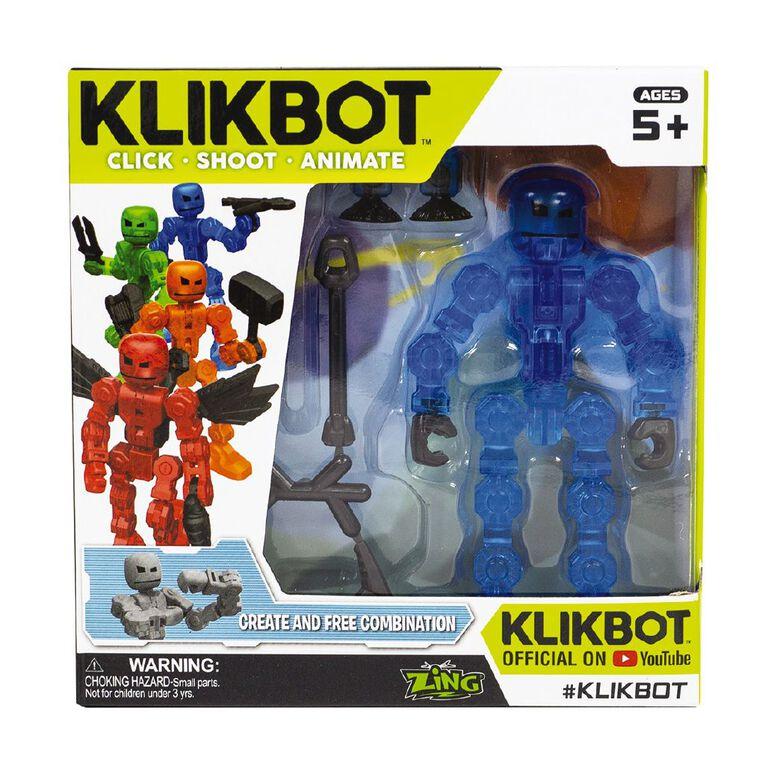 Zing Klikbot Single Pack Assorted, , hi-res