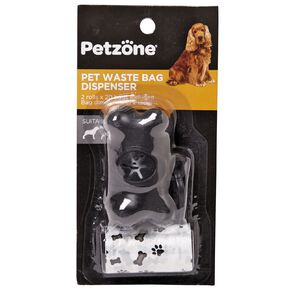 Petzone Pet Waste Bags With Dispenser Large